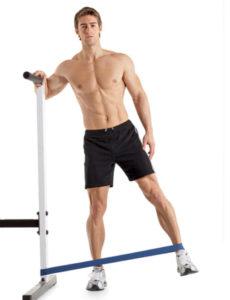 Аэробная растяжка мышц ног