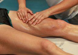 Массаж для похудения ног и бёдер