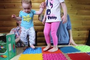 Ортопедические коврики для детей от плоскостопия