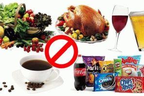 Подагра и ограничения в продуктах