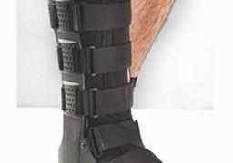 Применение деротационного сапожка при переломе шейки бедра