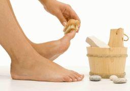 Как быстро убрать натоптыши на ступнях