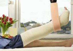 Сколько заживает перелом ноги
