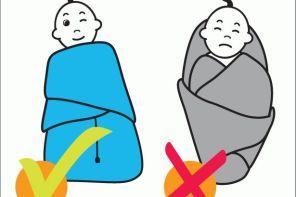 Широкое пеленание при дисплазии тазобедренных суставов