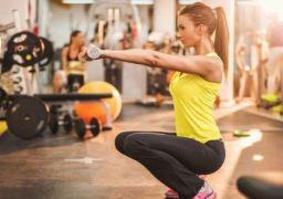Упражнения для сушки ног для девушек
