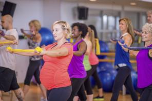 Упражнения для ног при беременности