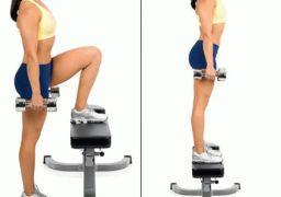 Упражнения для похудения бёдер и ягодиц