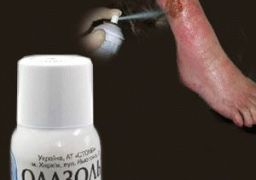 Применение обезболивающих спреев при трофических язвах
