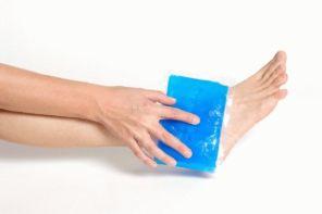Ванночки и компрессы от отёков ног