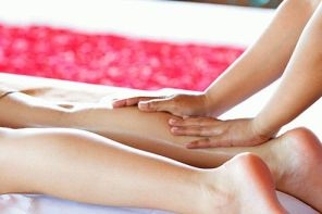 Массаж при варикозе ног