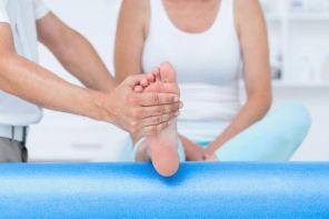 Как разработать ногу после перелома лодыжки
