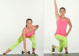 Упражнения для ушек на бёдрах