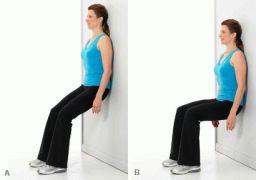 Какие делать упражнения при болях в коленях