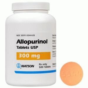 Упаковка с аллопуринолом