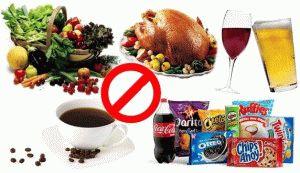Разрешенные продукты при подагре список