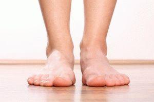 Следите за здоровьем ног!