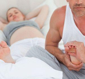 Массаж беременной женщине