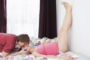 Лучшая поза при беременности