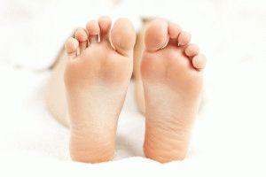 Идеальные подошвы ног