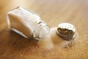 Меньше соли!