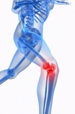 Как снять боль коленного сустава чем лечить в суставе плеча шишку