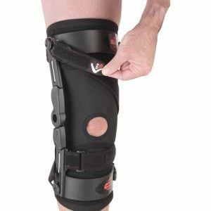 Разгрузка колена от давления