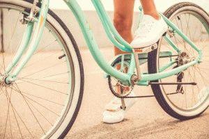 Можно кататься на простом велосипеде