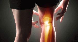Боль в область колена