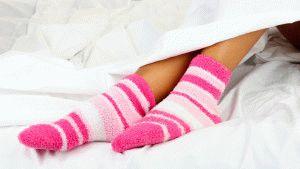Прячьте компресс под носками