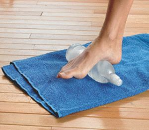 Упражнение для стопы