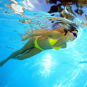 Плавание идеально для ног