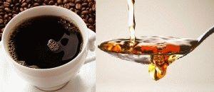 Крепкий кофе и уксус