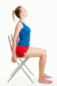 Занятия со стулом