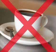 Запрещён кофе