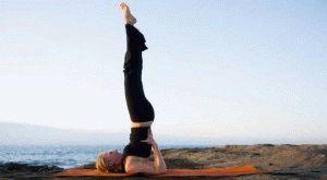 Упражнение берёзка