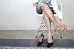 Неудобная обувь как причина грибка