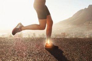 Нагрузка на суставы ног