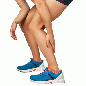 Судорожное сокращение в ноге