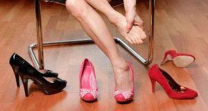Обувь жмёт в пальцах