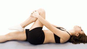 Растяжение мышц голени