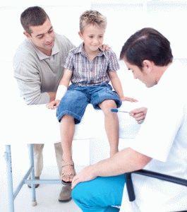 Ребёнок жалуется на боль в ногах