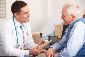Опрос пациента врачом