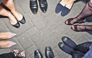 Мозоли из-за обуви