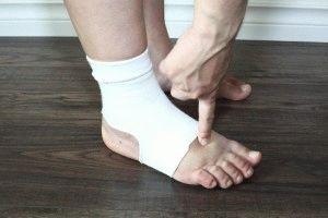Опухание ноги