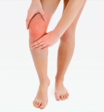 Причины опухоли в колене