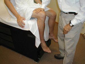 Осмотр ног у невропатолога