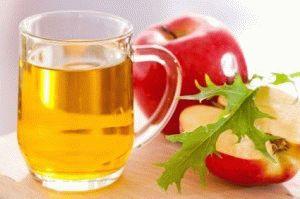 Яблочный уксус очень эффективен