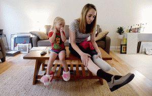 Фантомные боли после ампутации ноги