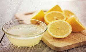 Лимон для лечения грибка