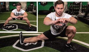 Разогрев мышц ног